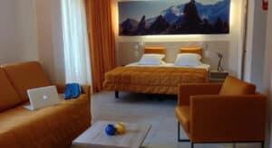 Contract Hotel Tamaro ad Ascona Svizzera. Arredamento realizzato su misura da Chiavgato Contract