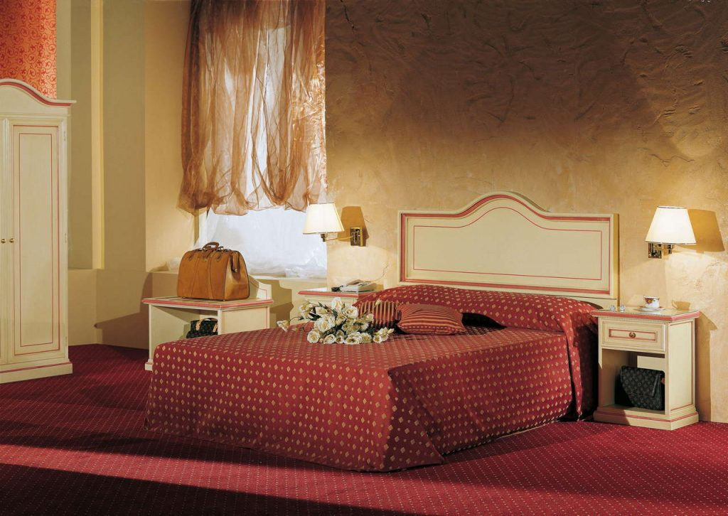 Arredamento camere hotel. Specialisti arredo camera hotel e alberghi. Chiavegato contract Verona