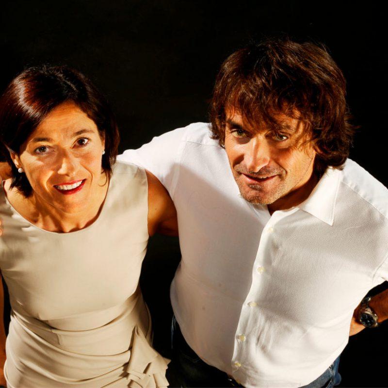 Lucio e Barbara Chiavegato della ditta veronese Chiavegato Contract Verona.