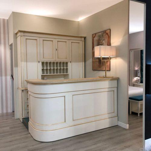 Contract Hall spazi comuni. Realizzazione arredamenti su misura hotel. Chiavegato Contract Verona