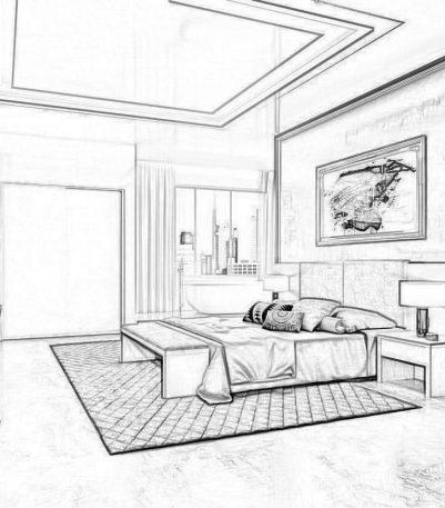 Arredamento Contract su misura per Hotel, B&B e affittacamere. Progettazione. Chiavegato Verona