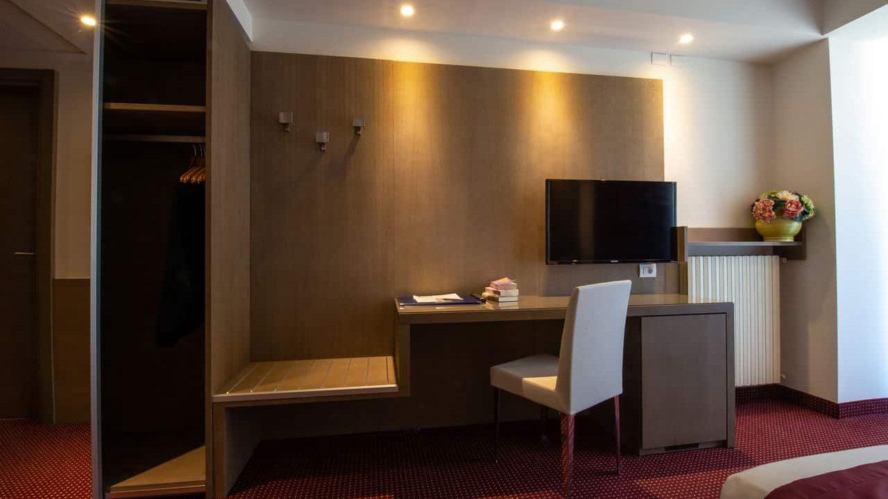 Contract Hotel Millepini a Montegrotto Terme di Padova. Arredamento su misura da Chiavgato Contract